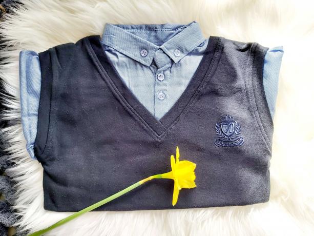 Elegancka koszula z kamizelką RYŚ